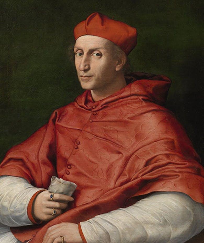 Ritratto del Cardinale Bibbiena
