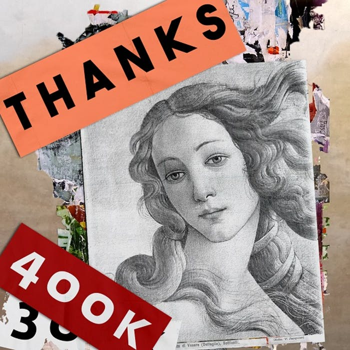 400k followers su Instagram per gli Uffizi!