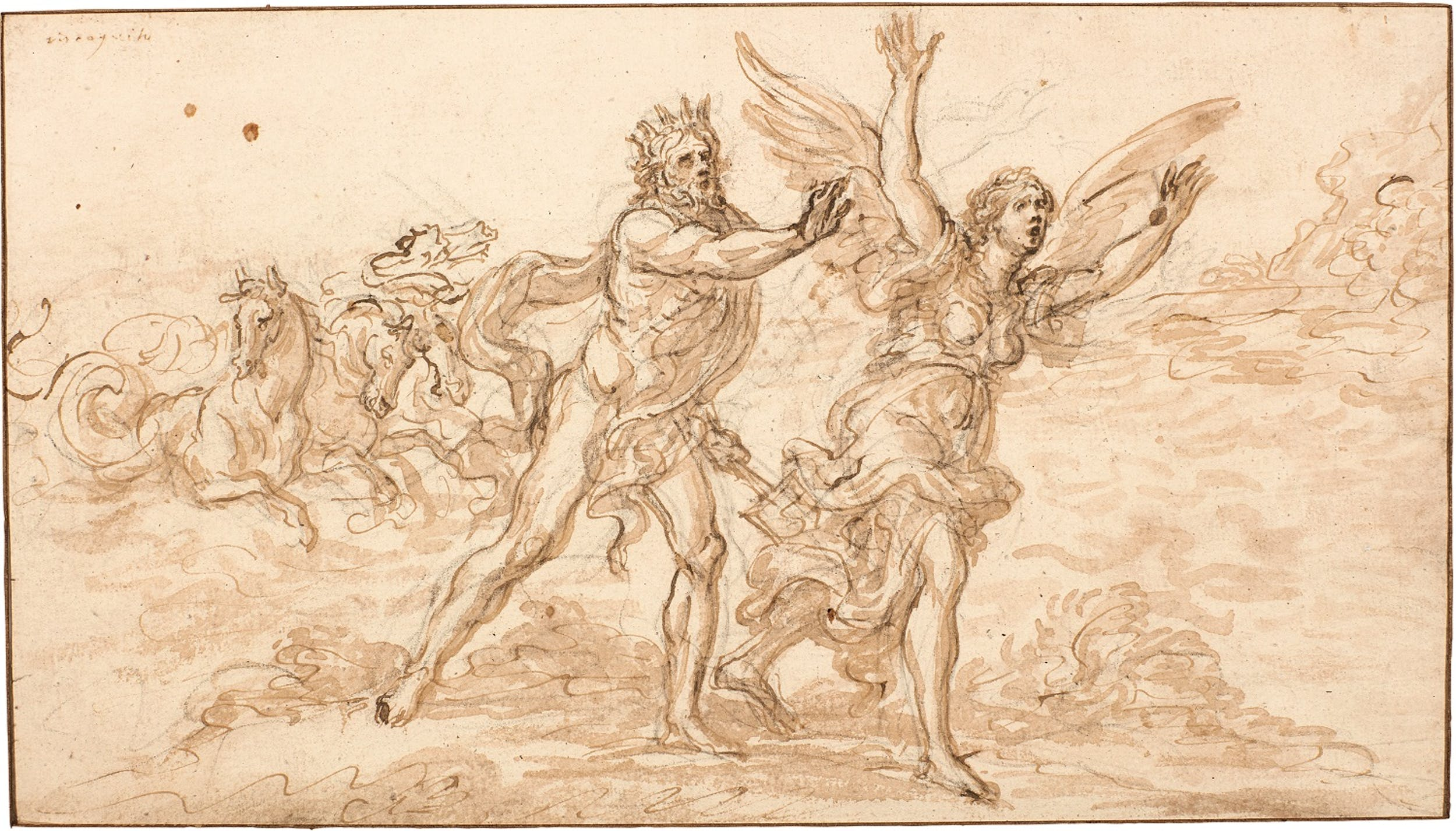 Giovan Battista Foggini, Nettuno insegue Coronis
