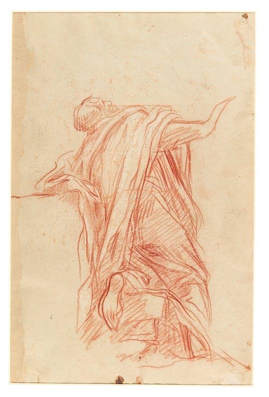 Baldassarre Franceschini, detto il Volterrano, studio di Apostolo