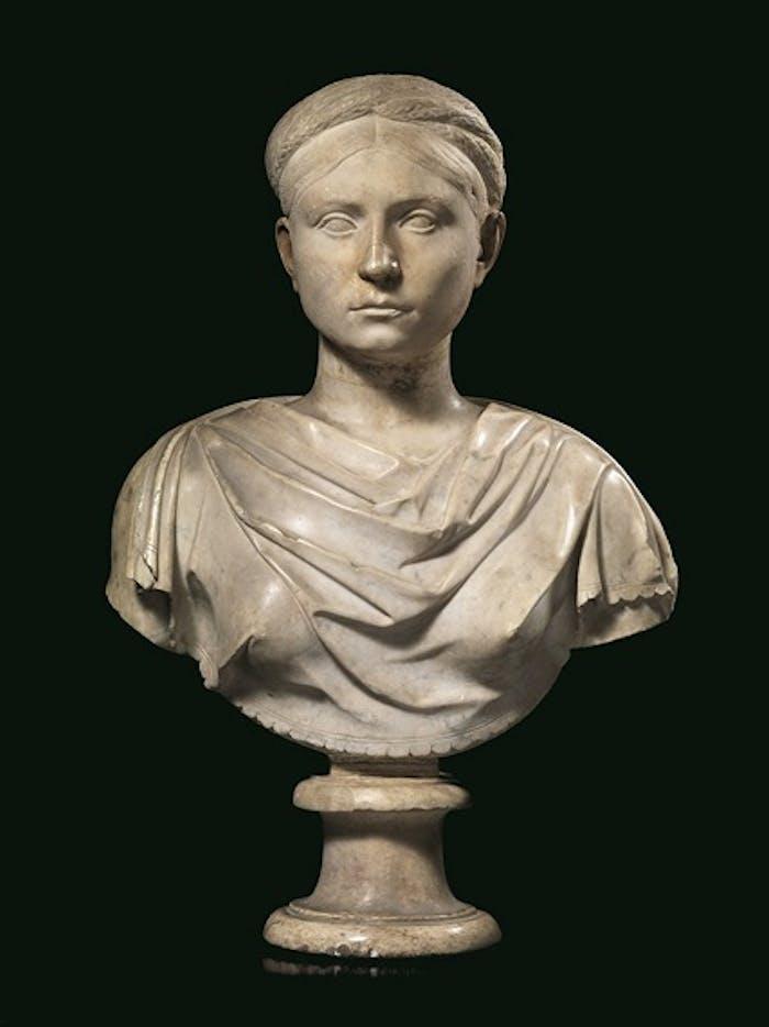 Due sculture femminili e due epigrafi di età romana acquistate dagli Uffizi