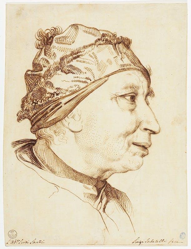 Luigi Sabatelli, Ritratto di Luigi Lanzi