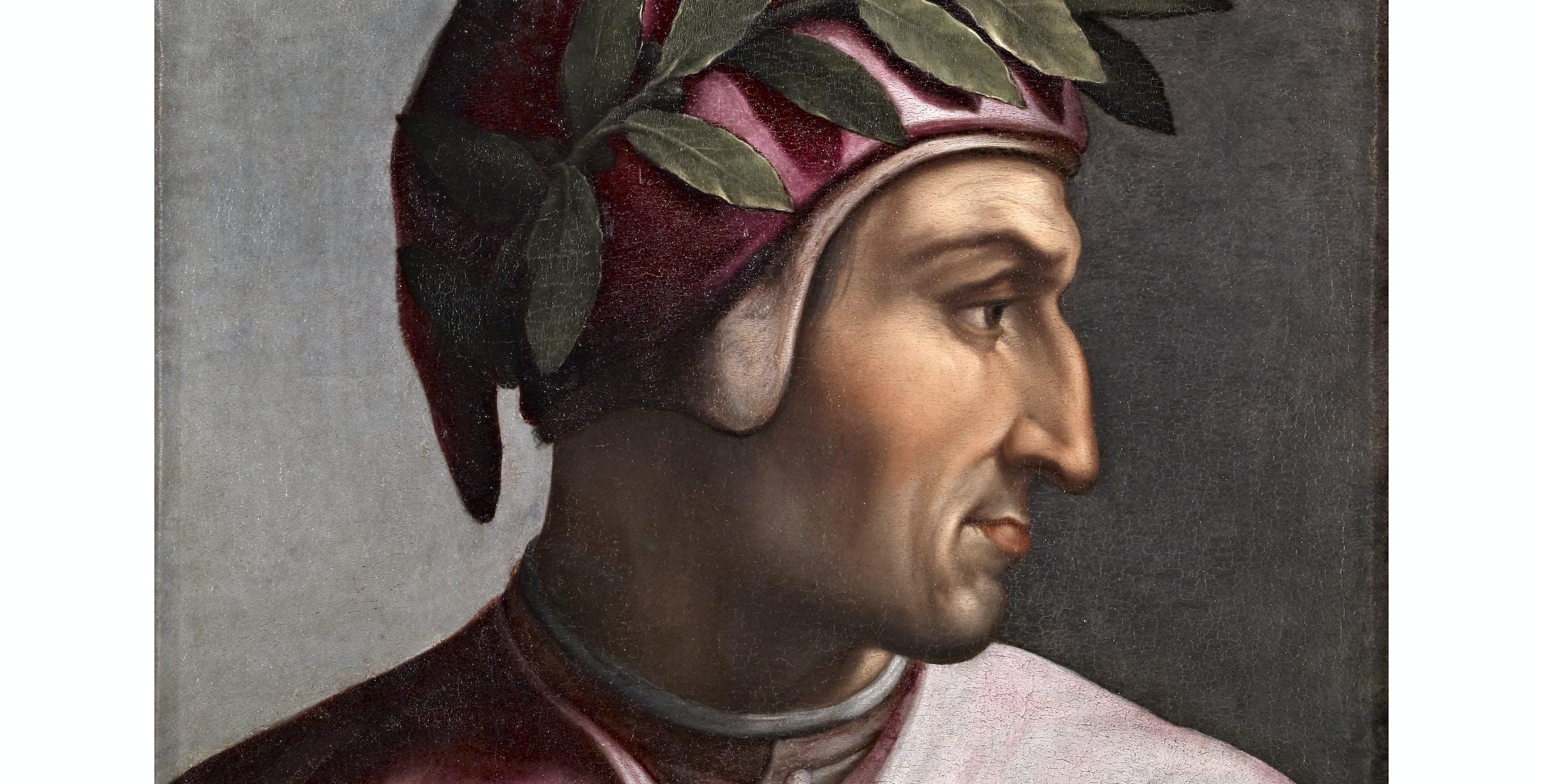 Cristofano dell'Altissimo, Ritratto di Dante, Uffizi