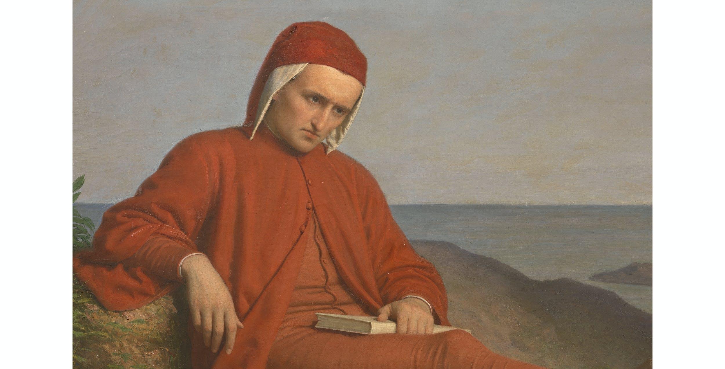 Domenico Petarlini, Dante in esilio, Palazzo Pitti, Galleria d'Arte Moderna