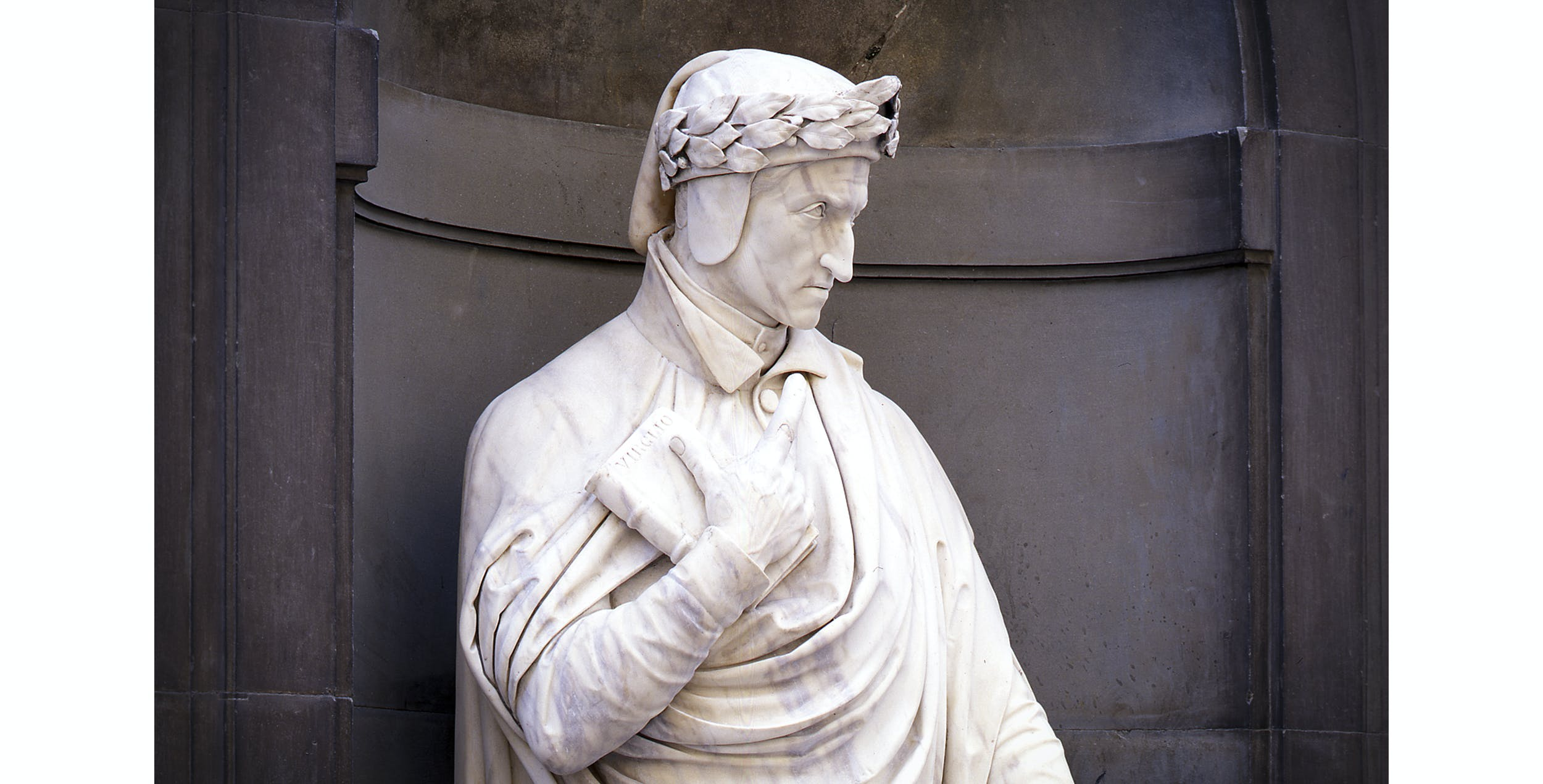 Emilio Demi, Dante, Piazzale degli Uffizi