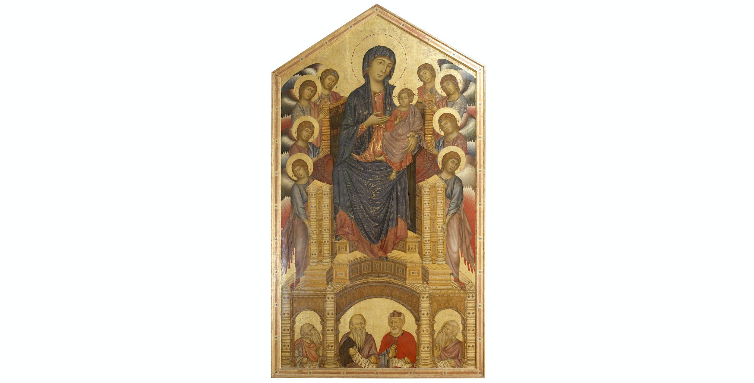 Cimabue, Maestà, Uffizi