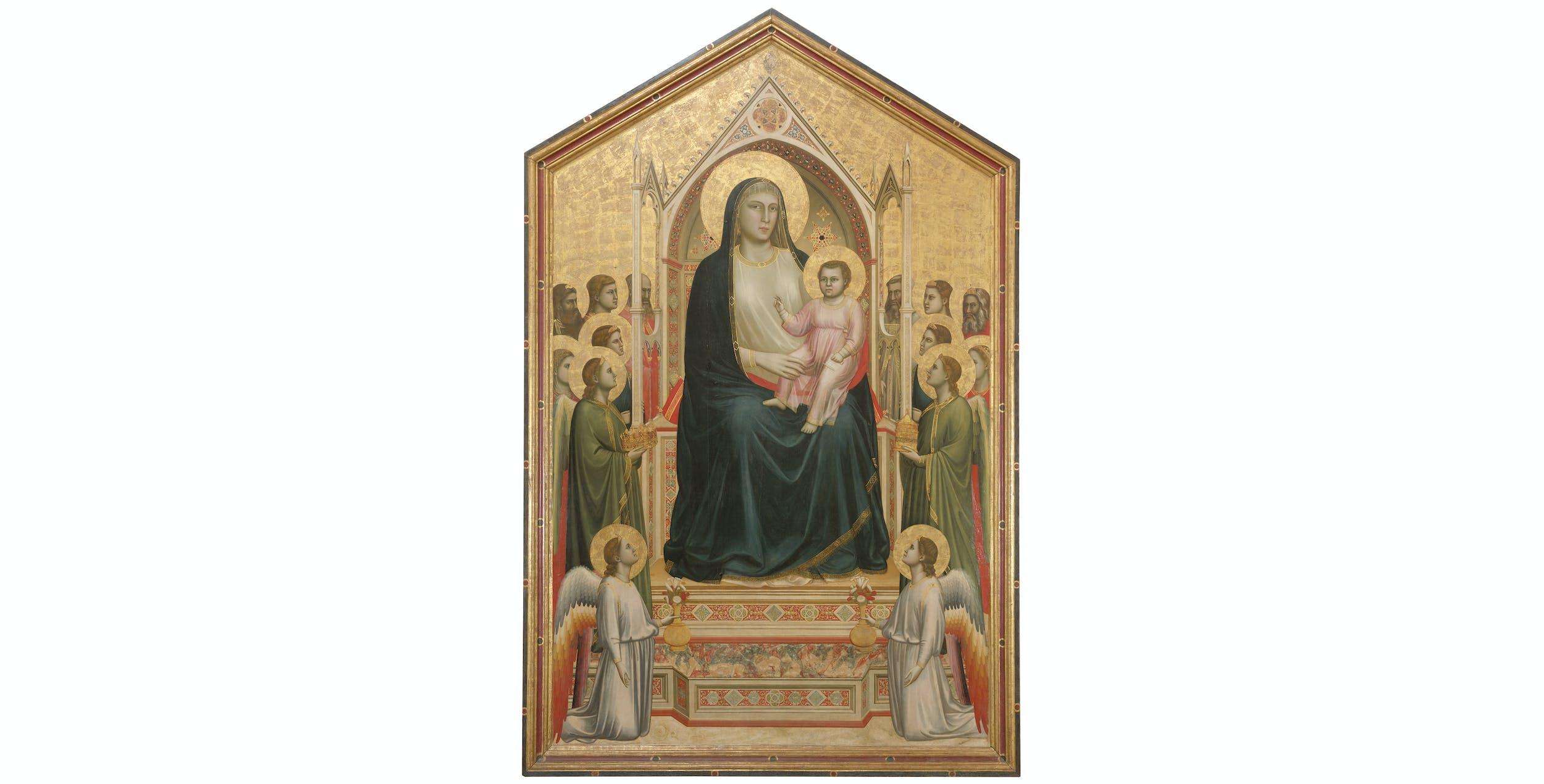Giotto, Maestà, Uffizi