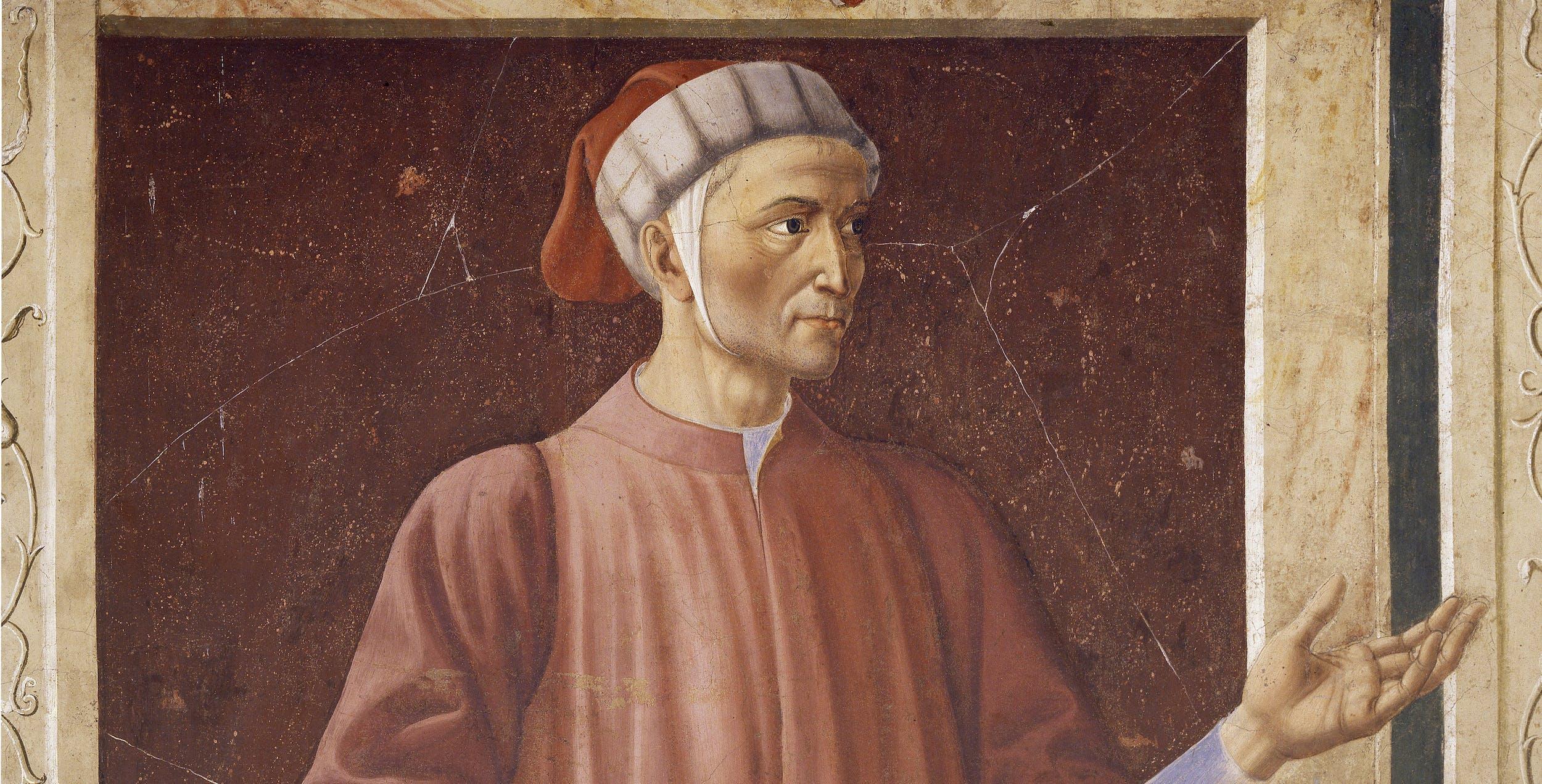 Andrea del Castagno, Dante, Uffizi, San Pier Scheraggio (part.)