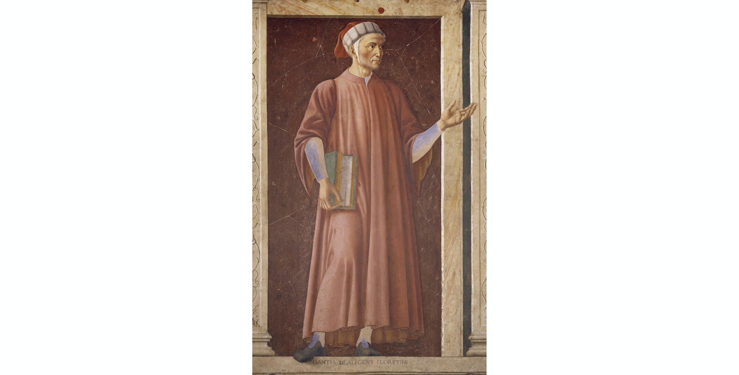 Andrea del Castagno, Dante, Uffizi, San Pier Scheraggio