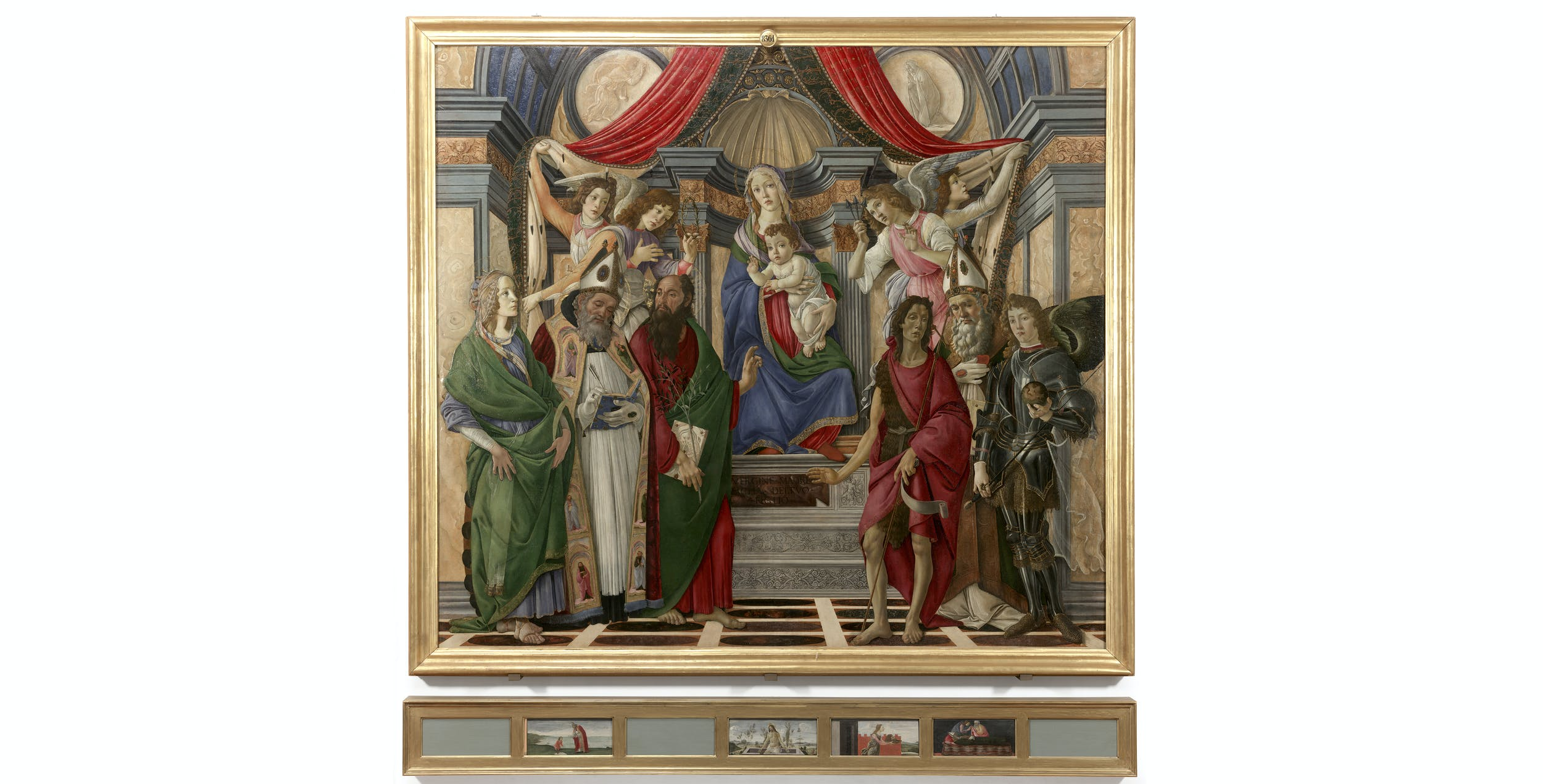 Sandro Botticelli, Pala di San Barnaba, Uffizi