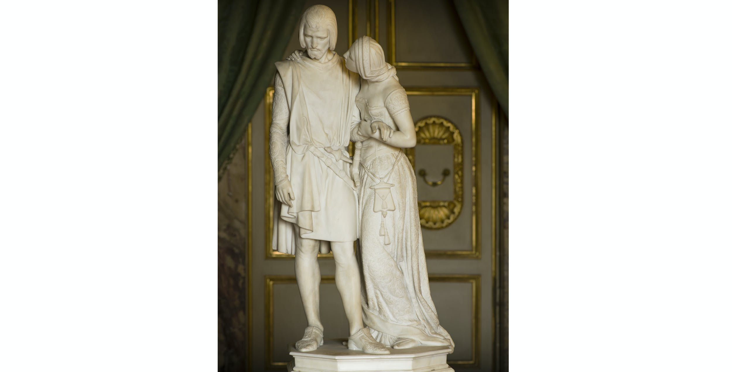 Pio Fedi, Nello con la Pia, Palazzo Pitti, Appartamenti Imperiali e Reali