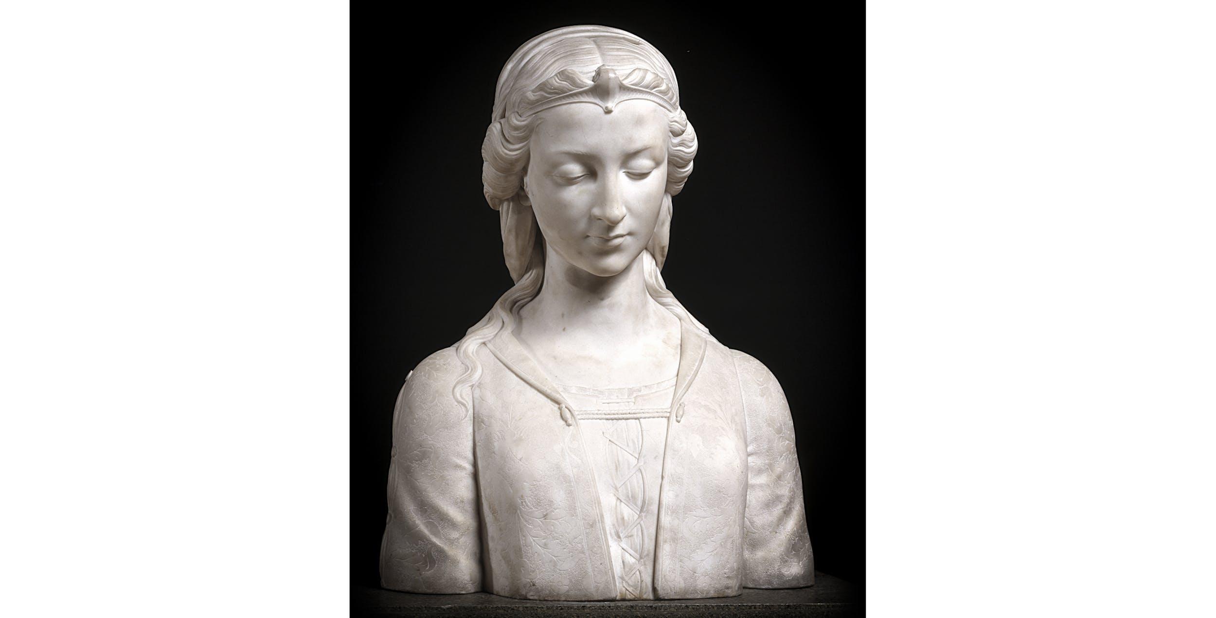 Giovanni Bastianini, Busto di Piccarda Donati, Palazzo Pitti, Galleria d'Arte Moderna