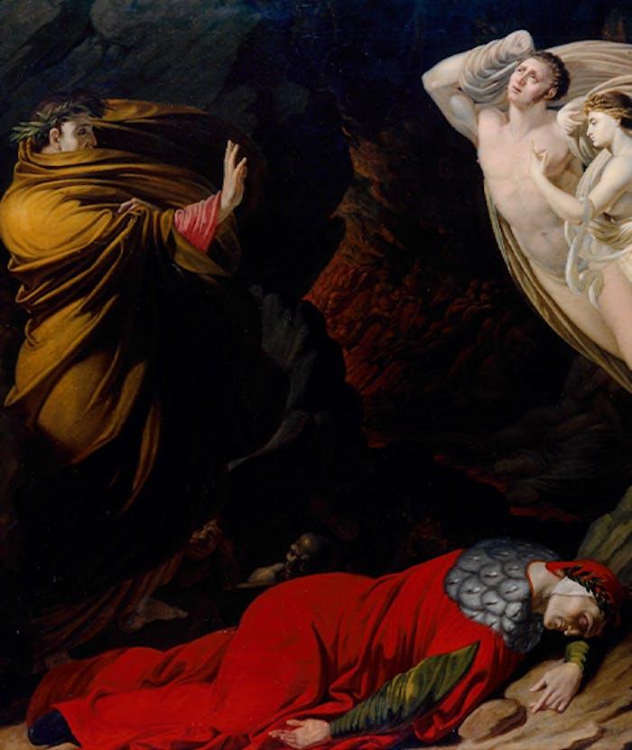 """Le Gallerie degli Uffizi acquistano """"Francesca da Rimini nell'Inferno dantesco"""""""
