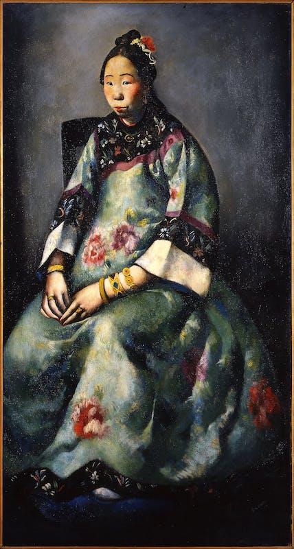Primo Conti, Ritratto di Lyung-Yuk
