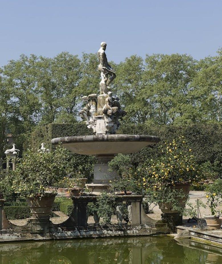 Springtime in Boboli Gardens