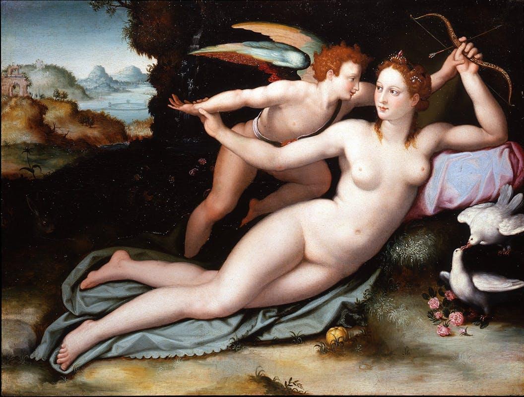 Venere e Cupido, Alessandro Allori