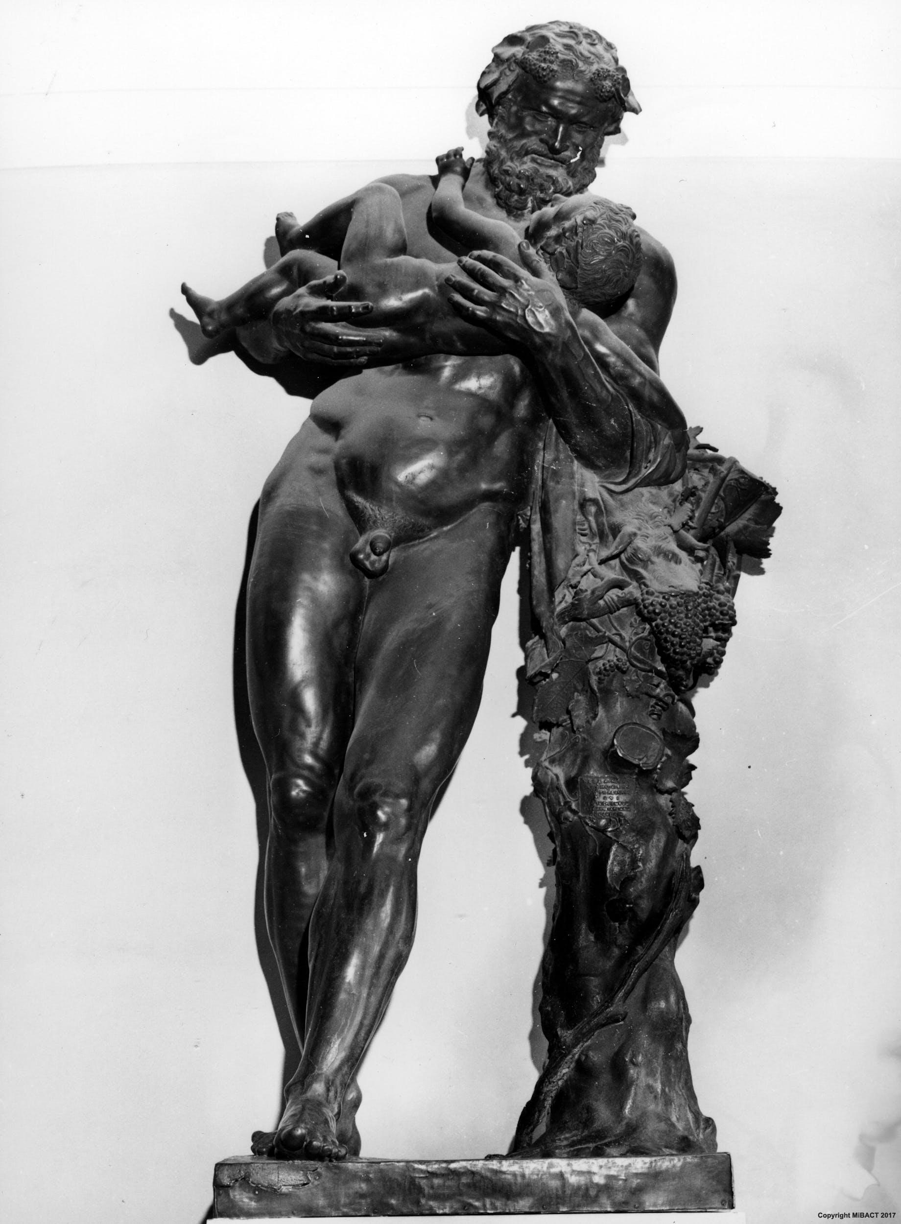 Sileno con Bacco fanciullo, Jacopo Del Duca