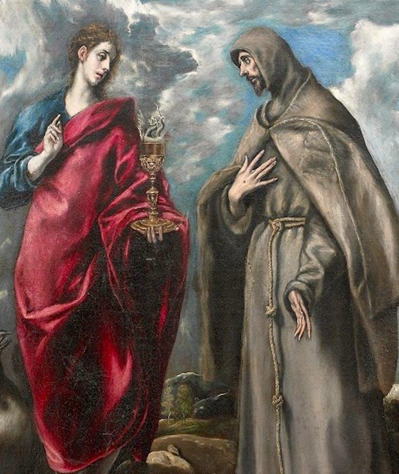 San Giovanni Evangelista e San Francesco d'Assisi