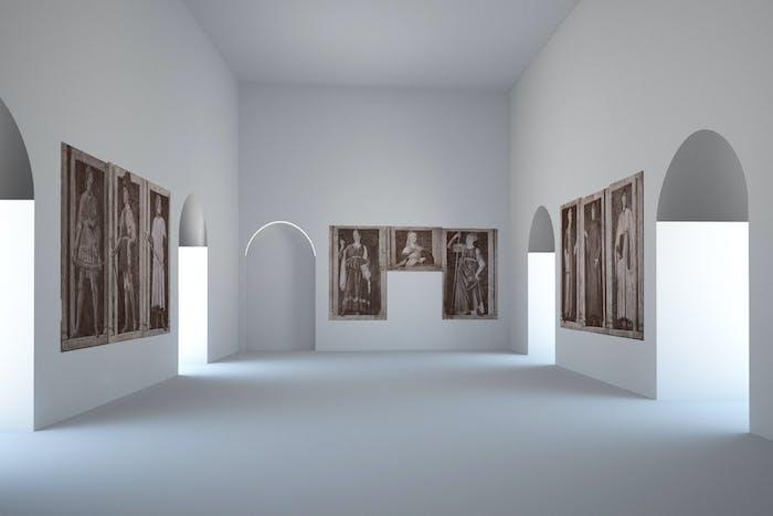 Gli Uomini Illustri di Andrea del Castagno alle Gallerie degli Uffizi