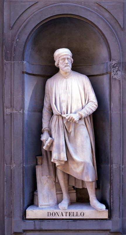 Girolamo Torrini, Donatello, 1845-1848, Firenze, Loggiato di levante degli Uffizi