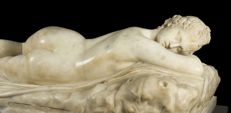 The Sleeping Hermafroditus
