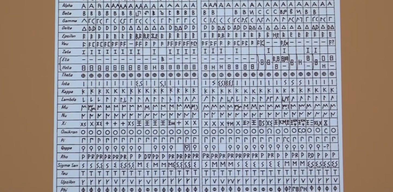Enrico Benelli - Lingua e scrittura degli etruschi