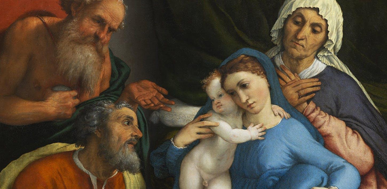 Il restauro della Sacra Famiglia di Lorenzo Lotto