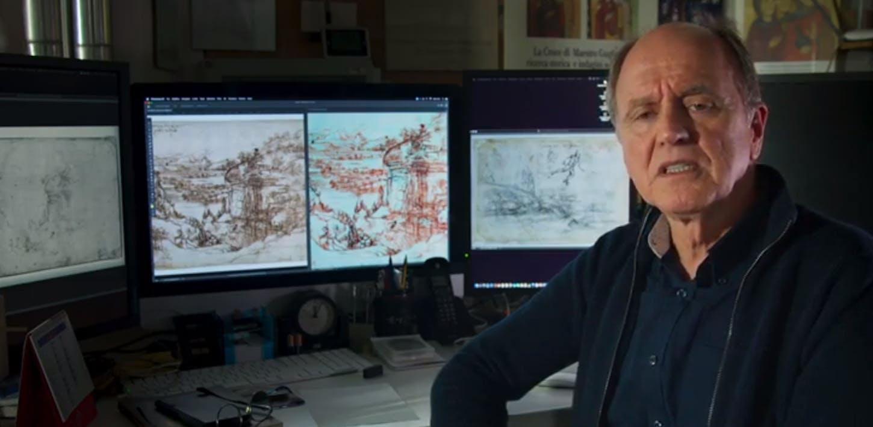 Roberto Bellucci: le indagini diagnostiche sul disegno 8P di Leonardo