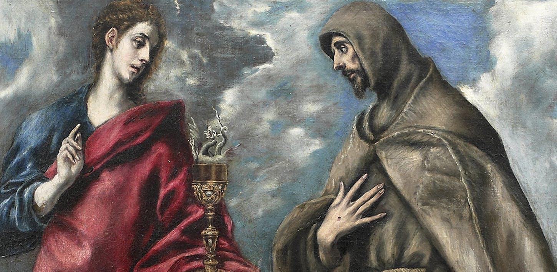 El San Juan y San Francisco de Doménikos Theotokópoulos, dicho El Griego