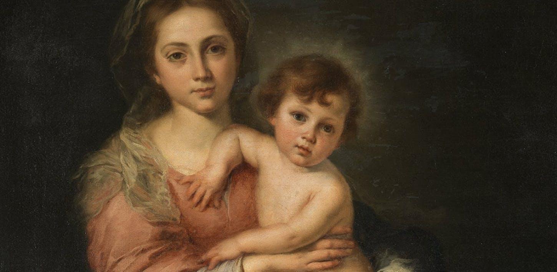 La Virgen con el Niño de Bartolomé Esteban Murillo