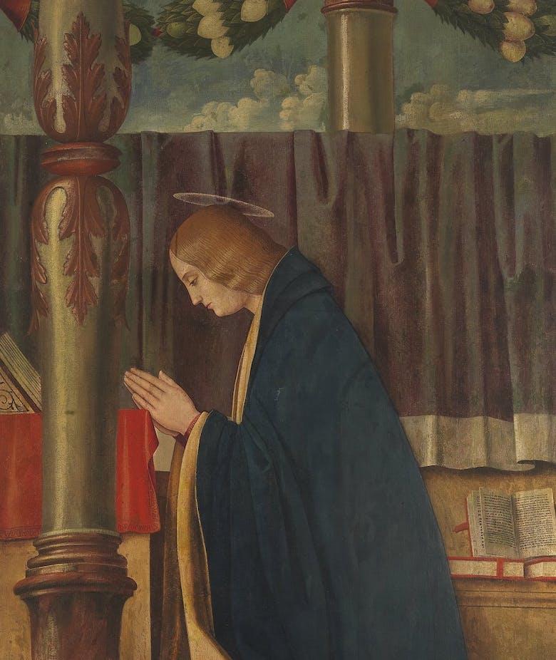 Annunciate Virgin