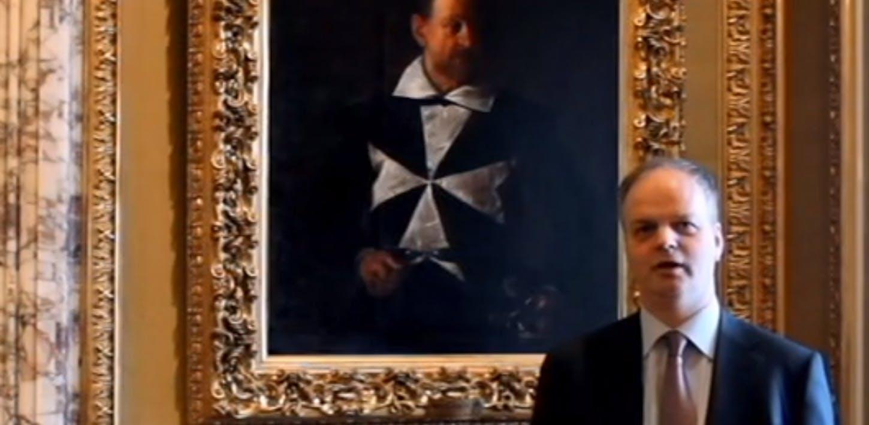 La ricollocazione del Cavaliere di Malta di Caravaggio