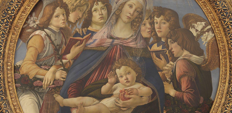 La Madonna della Melagrana di Botticelli