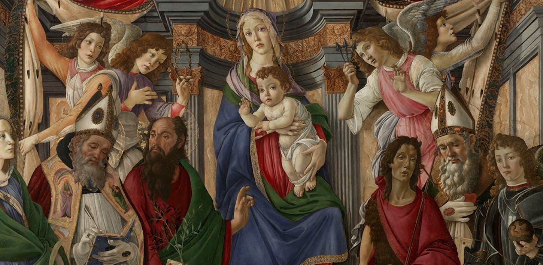 La pala di San Barnaba di Botticelli