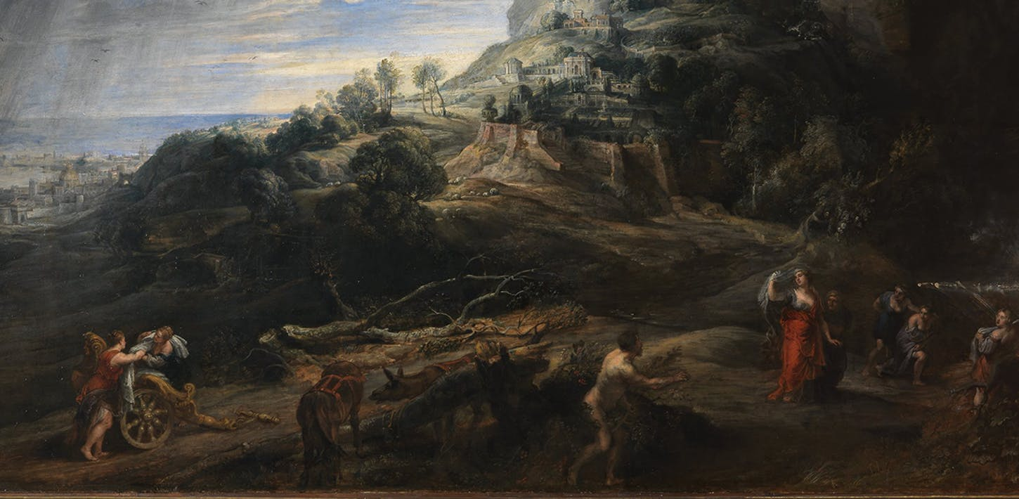 Ulisse all'isola dei Feaci di Pieter Paul Rubens