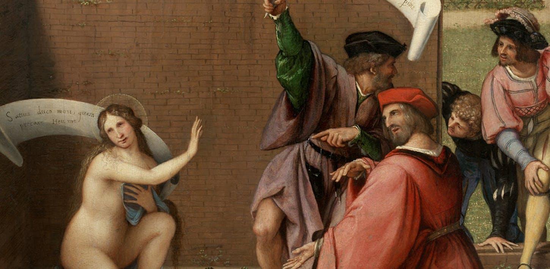 Susanna e i Vecchioni di Lorenzo Lotto