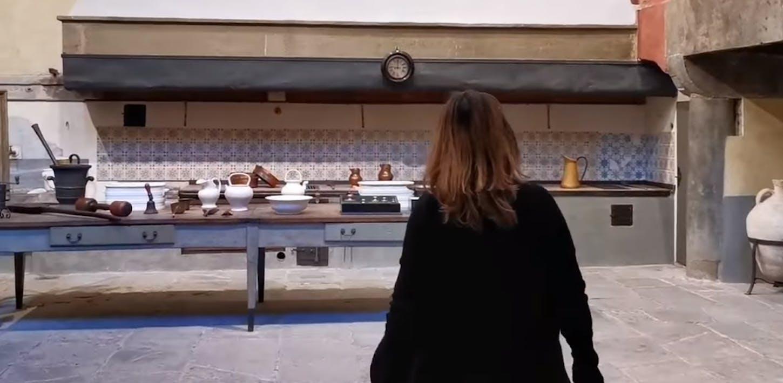 La cucina granducale di Palazzo Pitti