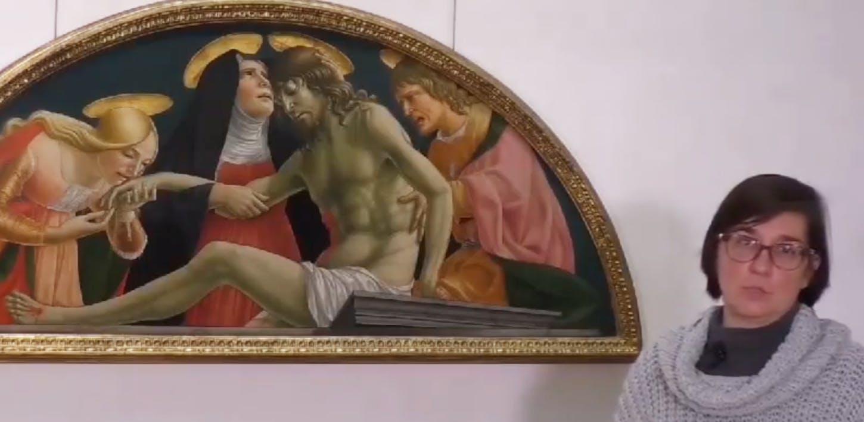 The Pietà by Lorenzo d'Alessandro da San Severino