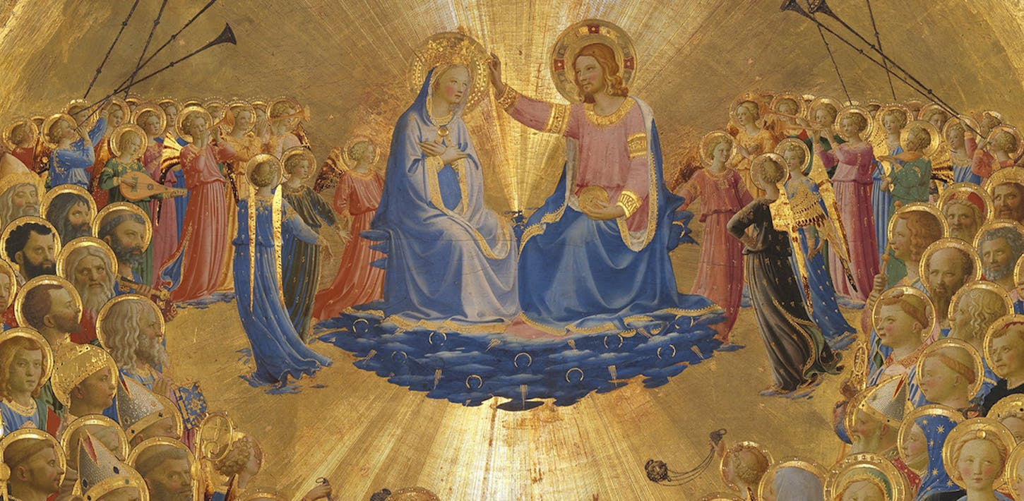 The Glorification of the Virgin by Beato Angelico
