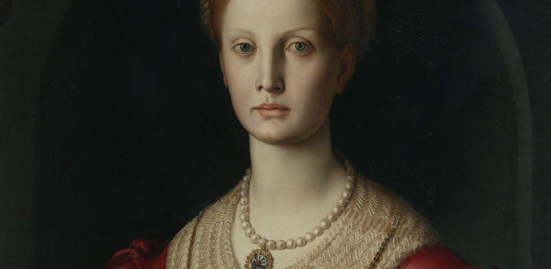 Lucretia Panciatichi by Bronzino