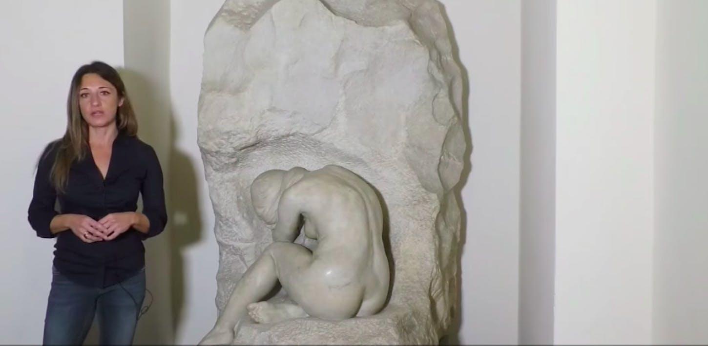 Una mujer escultora: Rebeca Matte