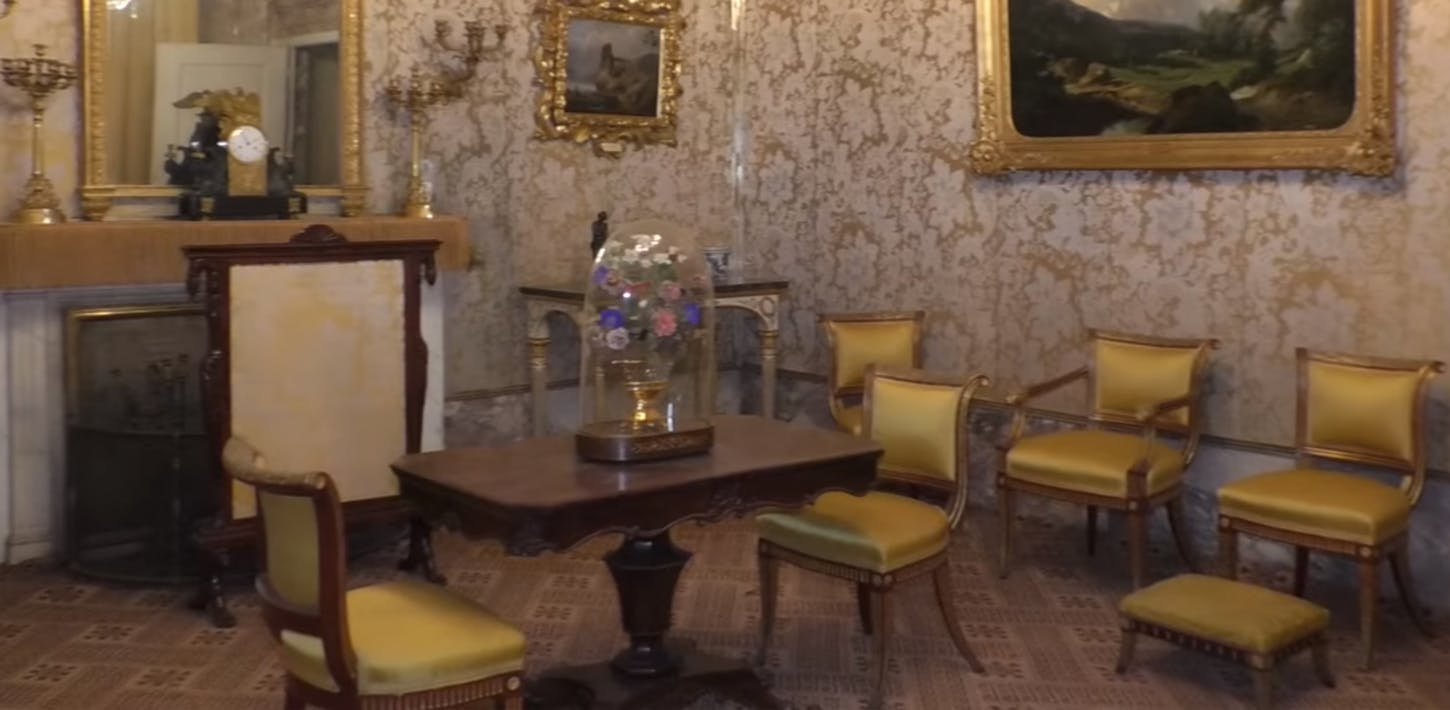 The Apartment of the Duchess of Aosta in Pitti Palace