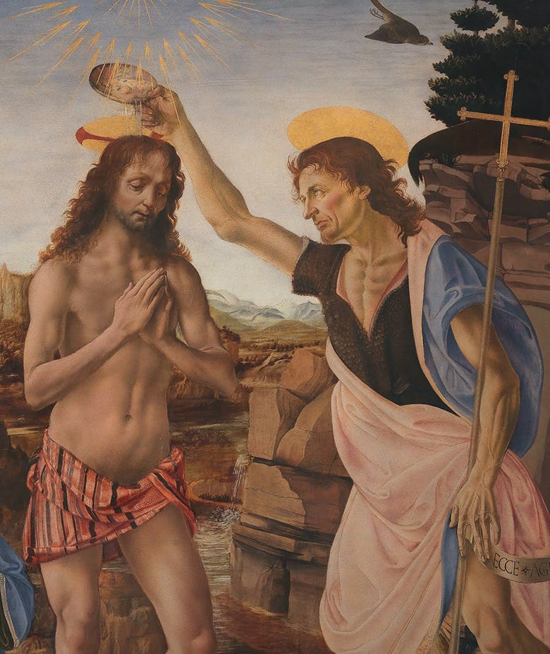 The Saint who baptized Christ