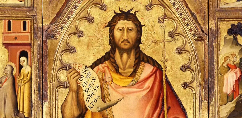 La pala San Giovanni Battista di Giovanni del Biondo