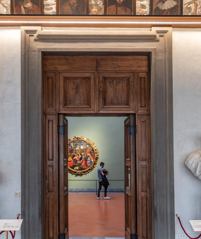 From 7th July the Uffizi open from Tuesday to Sunday (9am - 6.30pm)