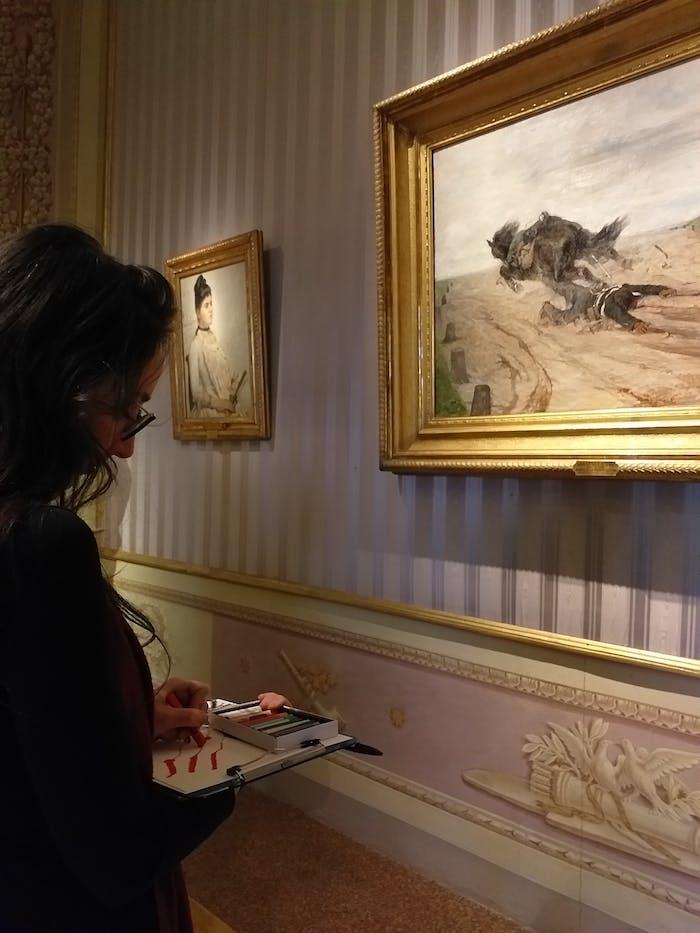 Per un approccio creativo alle collezioni delle Gallerie degli Uffizi: l'esperienza del laboratorio Drawing as Seeing