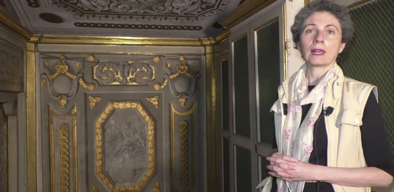 Gli Appartamenti Imperiali e Reali - L'alcova del Gran Principe Ferdinando