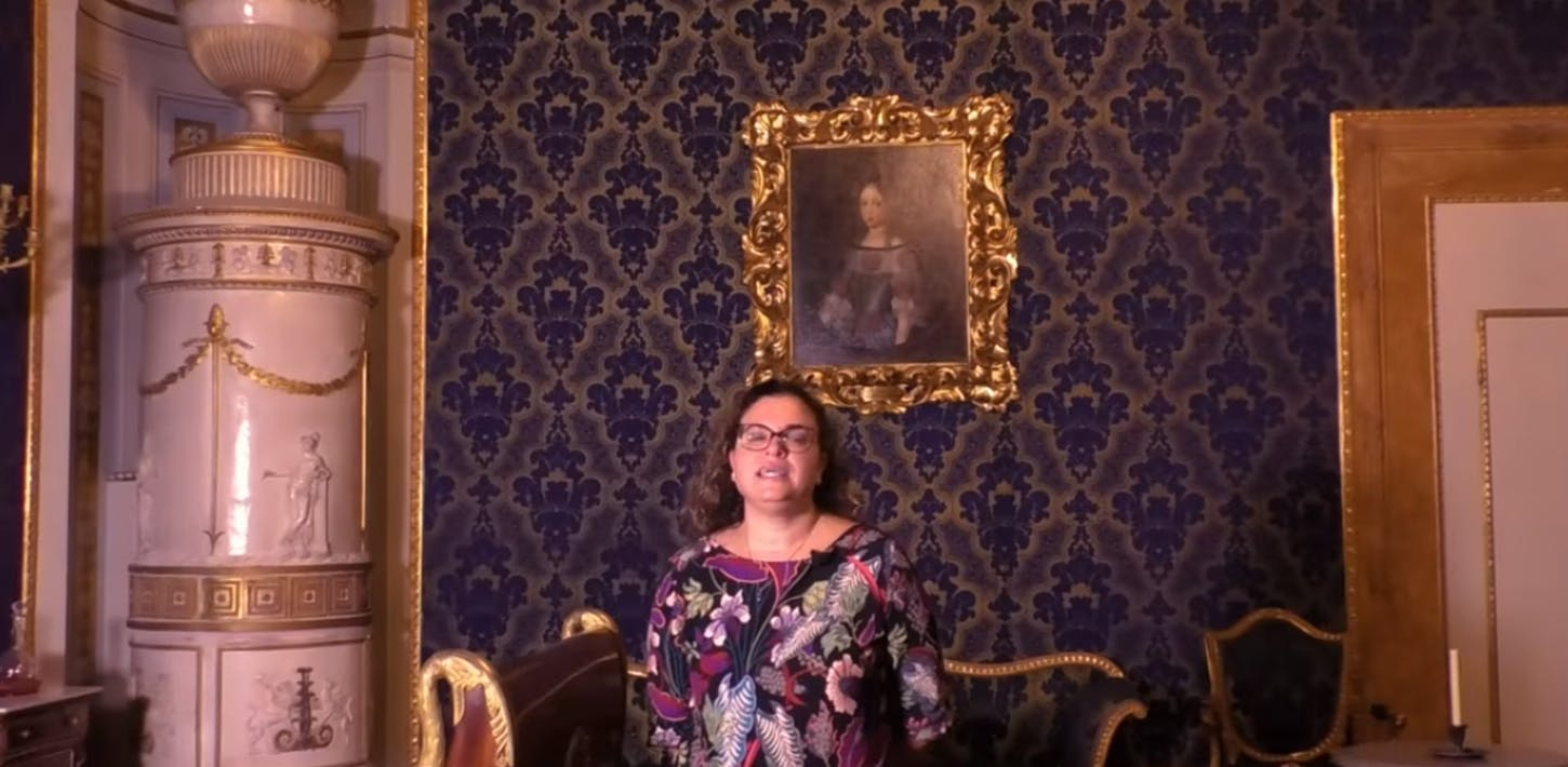 The Apartment of the Duchess of Aosta in Pitti Palace - ii