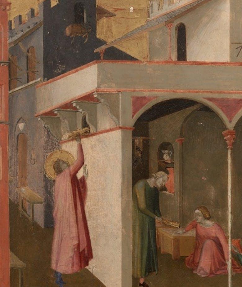 L'elemosina di san Nicola; san Nicola ordinato vescovo di Myra