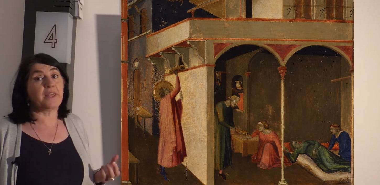 Le storie di San Nicola dipinte da Ambrogio Lorenzetti